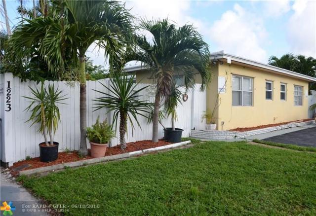 1223 NE 15th Ave, Fort Lauderdale, FL 33304 (MLS #F10125576) :: Green Realty Properties