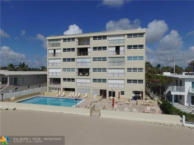 4636 El Mar Dr #201, Lauderdale By The Sea, FL 33308 (MLS #F10125681) :: Green Realty Properties
