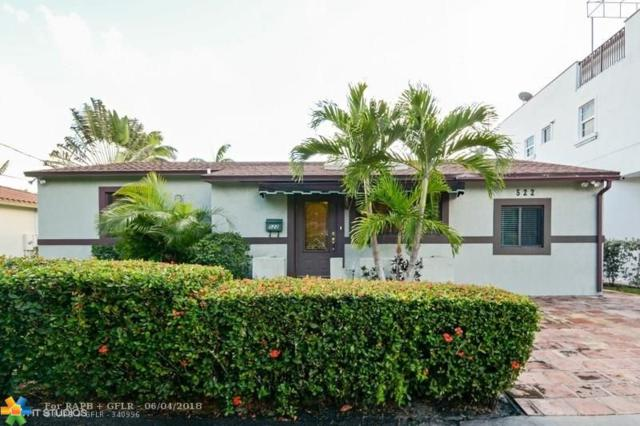522 SW 11th Ct, Fort Lauderdale, FL 33315 (MLS #F10125854) :: Green Realty Properties