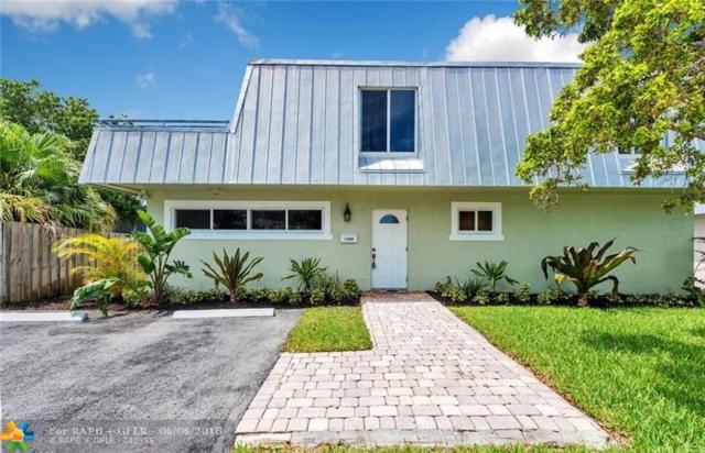 1380 NE 40th Dr, Oakland Park, FL 33334 (MLS #F10125901) :: Green Realty Properties