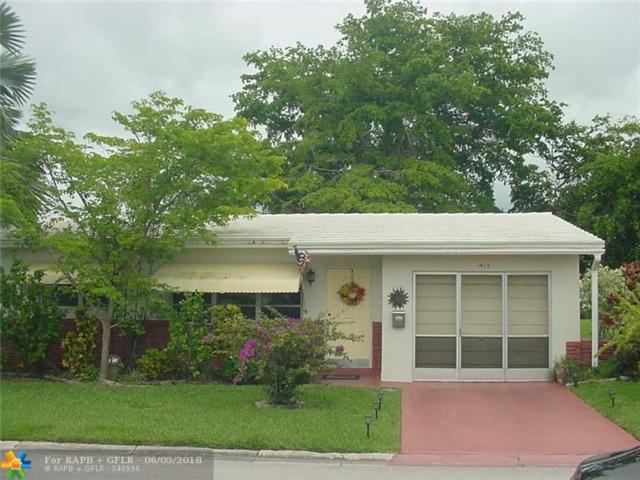 1465 NW 69th Ave, Margate, FL 33063 (MLS #F10125902) :: Green Realty Properties