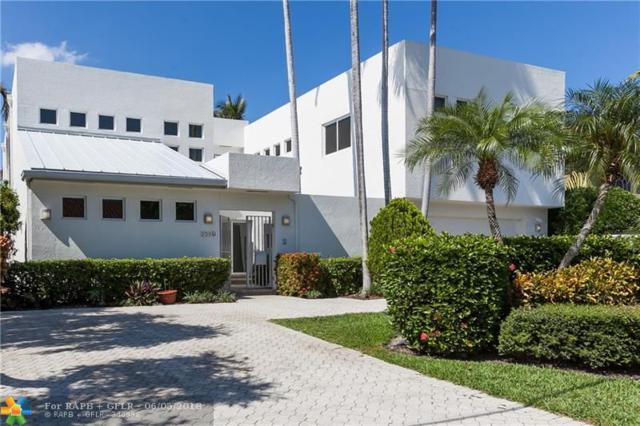 2519 Sea Island Dr, Fort Lauderdale, FL 33301 (MLS #F10126030) :: Green Realty Properties