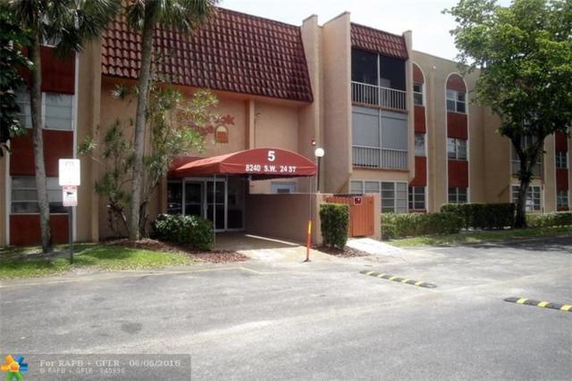 8240 SW 24th St #106, North Lauderdale, FL 33068 (MLS #F10126165) :: Green Realty Properties