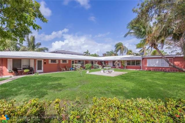 1311 Bayview Dr, Fort Lauderdale, FL 33304 (MLS #F10126365) :: Green Realty Properties