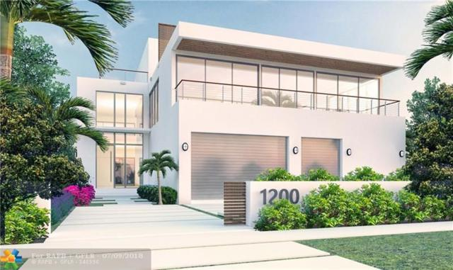 1200 Seminole Dr, Fort Lauderdale, FL 33304 (MLS #F10126543) :: Green Realty Properties