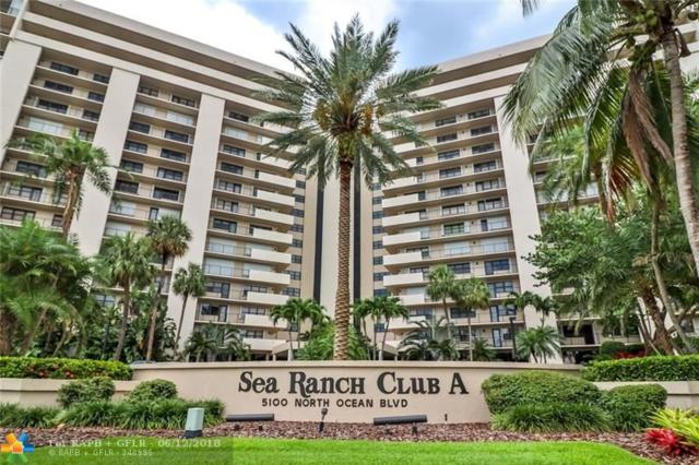 5100 N Ocean Blvd #1218, Lauderdale By The Sea, FL 33308 (MLS #F10126658) :: Green Realty Properties