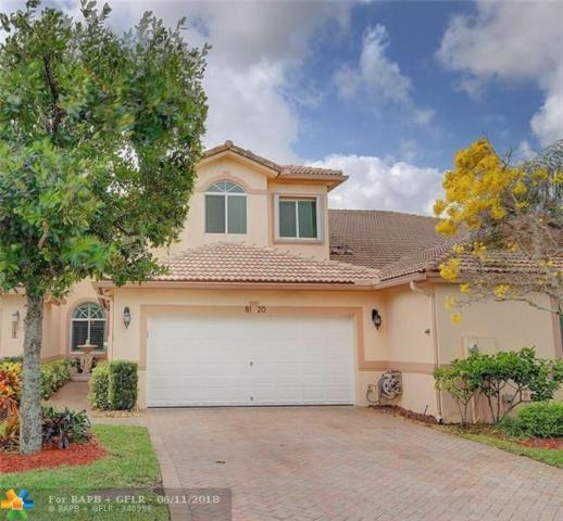 8120 NW Madison Lakes Cir #8120, Davie, FL 33328 (MLS #F10126949) :: Green Realty Properties