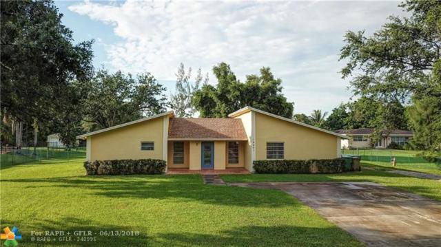 14401 SW 20th St, Davie, FL 33325 (MLS #F10127132) :: Green Realty Properties