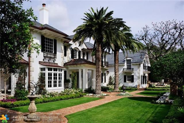 1549 Ponce De Leon Dr, Fort Lauderdale, FL 33316 (MLS #F10127226) :: Green Realty Properties