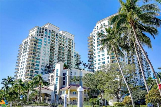610 W Las Olas Blvd 2116N, Fort Lauderdale, FL 33312 (MLS #F10127260) :: Green Realty Properties