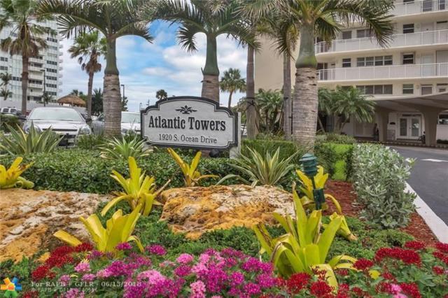 1920 S Ocean Dr #904, Fort Lauderdale, FL 33316 (MLS #F10127299) :: Green Realty Properties