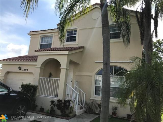 1395 NW 159th Ln, Pembroke Pines, FL 33028 (MLS #F10127306) :: Green Realty Properties