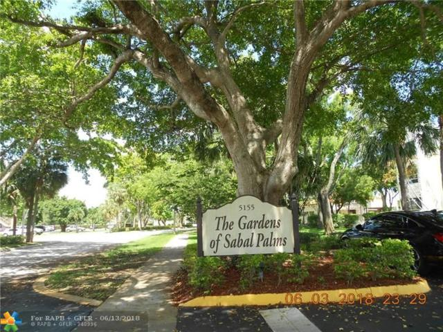 5155 E Sabal Palm Blvd #210, Tamarac, FL 33319 (MLS #F10127344) :: Green Realty Properties