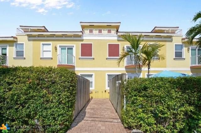 1224 NE 18th Ave #1, Fort Lauderdale, FL 33304 (MLS #F10127992) :: Green Realty Properties
