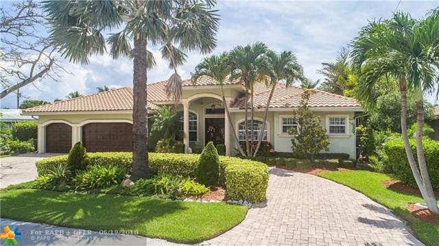 3500 NE 26th Ave, Lighthouse Point, FL 33064 (MLS #F10128000) :: Green Realty Properties