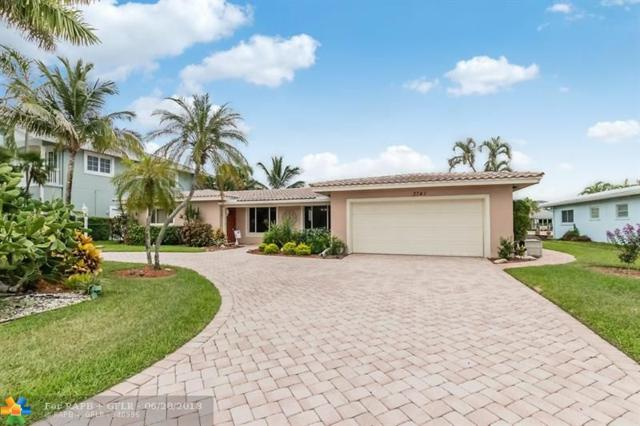 3741 NE 25th Ave, Lighthouse Point, FL 33064 (MLS #F10128146) :: Green Realty Properties