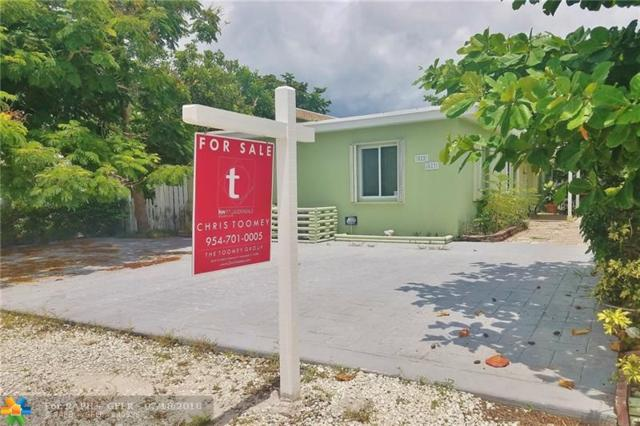 825 NE 22nd Dr, Wilton Manors, FL 33305 (MLS #F10128383) :: The O'Flaherty Team
