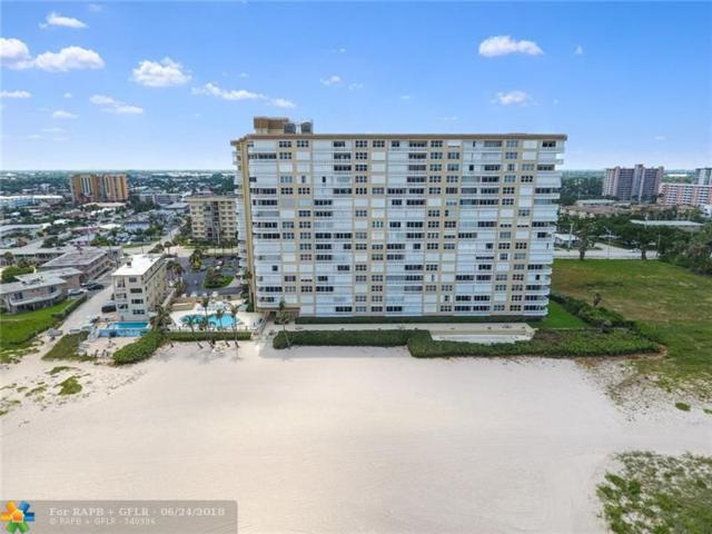 1012 N Ocean Blvd #208, Pompano Beach, FL 33062 (MLS #F10128768) :: Green Realty Properties
