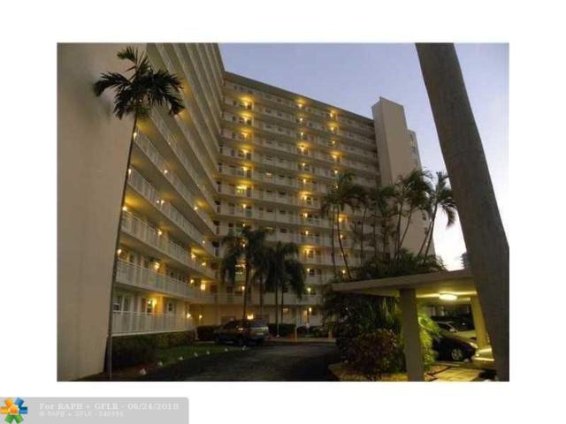 201 N Ocean Blvd #711, Pompano Beach, FL 33062 (MLS #F10128901) :: Green Realty Properties
