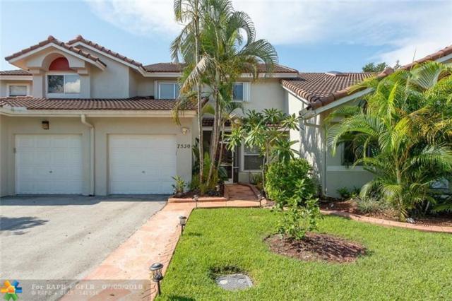 7550 S Pinewalk Dr #7550, Margate, FL 33063 (MLS #F10130494) :: Green Realty Properties
