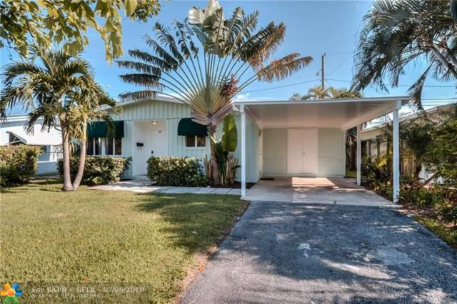 381 NW 49th St, Oakland Park, FL 33309 (MLS #F10130606) :: Green Realty Properties