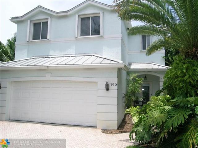 740 NE 17th Way, Fort Lauderdale, FL 33304 (MLS #F10130744) :: Green Realty Properties