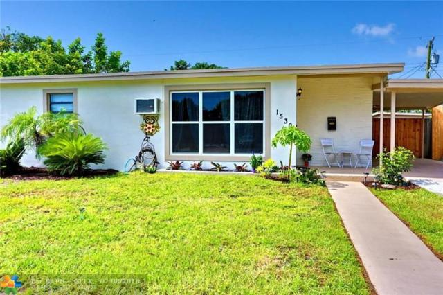 1530 NE 42nd Ct, Pompano Beach, FL 33064 (MLS #F10130820) :: Green Realty Properties