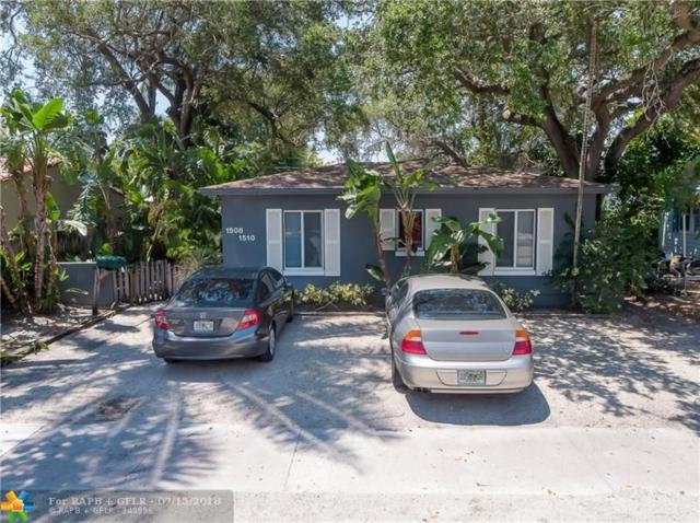 1508 NE 4th Pl, Fort Lauderdale, FL 33301 (MLS #F10130908) :: The Dixon Group