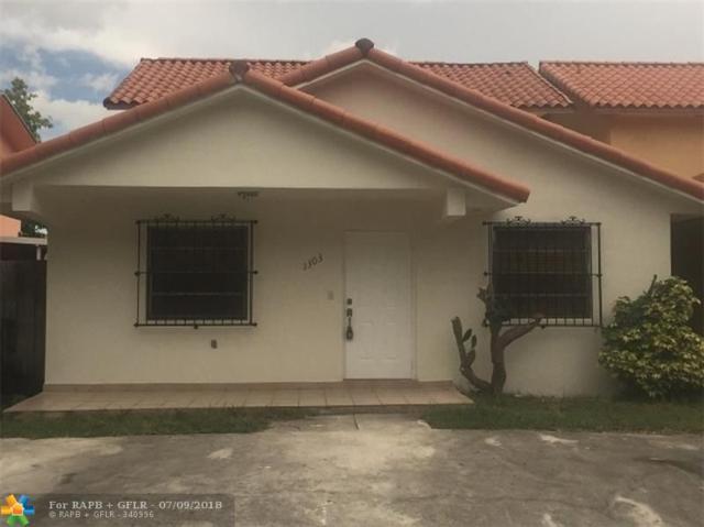 1303 W 42nd St, Hialeah, FL 33012 (MLS #F10130954) :: Green Realty Properties