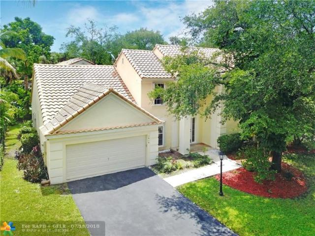 7616 Parkview Way, Coral Springs, FL 33065 (MLS #F10131569) :: The O'Flaherty Team
