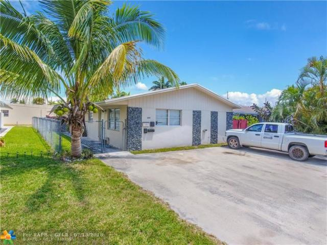 225 SE Park St, Dania Beach, FL 33004 (MLS #F10131671) :: Green Realty Properties