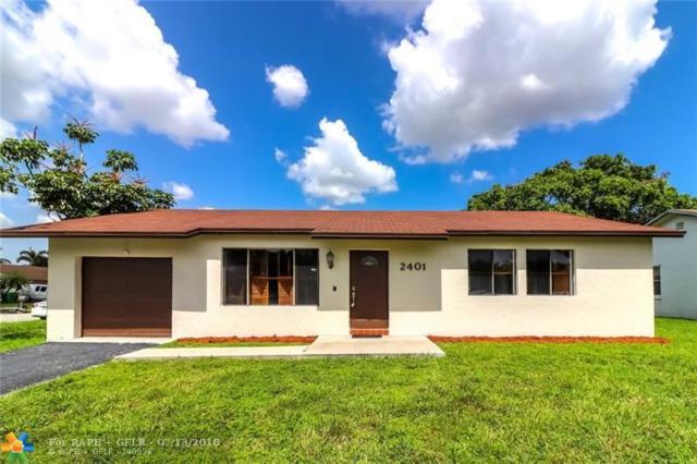 2401 NW 110th Ter, Sunrise, FL 33322 (MLS #F10131717) :: Green Realty Properties