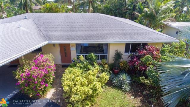 2300 NE 15th Ave, Wilton Manors, FL 33305 (MLS #F10131950) :: The O'Flaherty Team