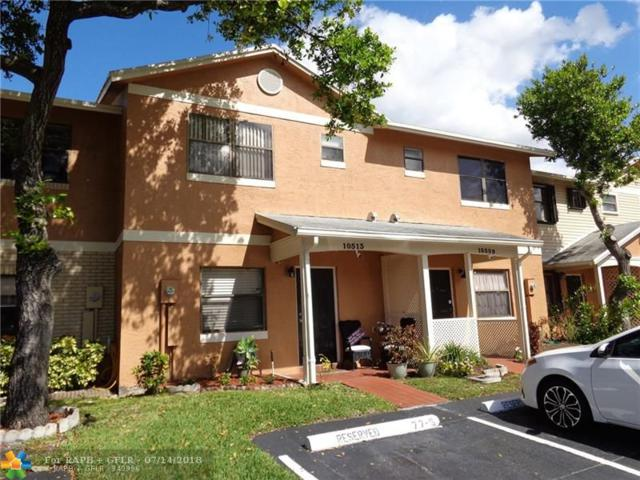 10513 NW 6th St #10513, Pembroke Pines, FL 33026 (MLS #F10131959) :: The Dixon Group