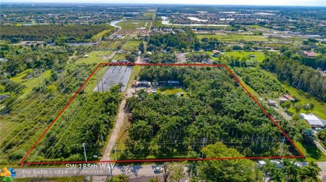 6621 SW 185th Way, Southwest Ranches, FL 33332 (MLS #F10132102) :: Green Realty Properties