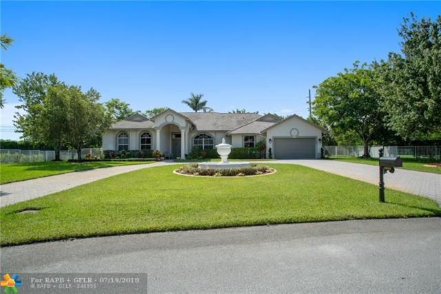 1900 SW 131st Ter, Davie, FL 33325 (MLS #F10132309) :: Green Realty Properties
