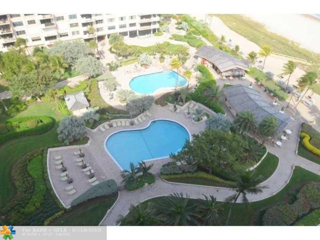 4900 N Ocean Blvd #1506, Lauderdale By The Sea, FL 33308 (MLS #F10132456) :: The O'Flaherty Team