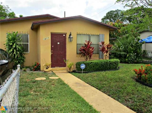 2817 NW 2nd St, Pompano Beach, FL 33069 (MLS #F10132824) :: Green Realty Properties