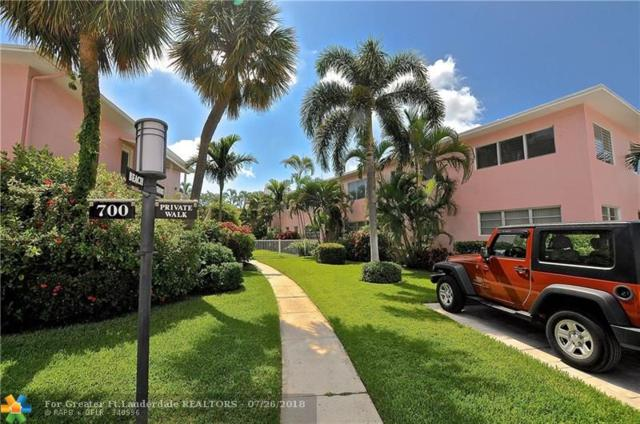 700 Bayshore Dr #28, Fort Lauderdale, FL 33304 (MLS #F10133297) :: Green Realty Properties