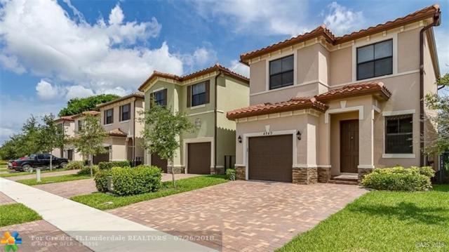 4849 NW 57th Ct, Tamarac, FL 33319 (MLS #F10133750) :: Green Realty Properties