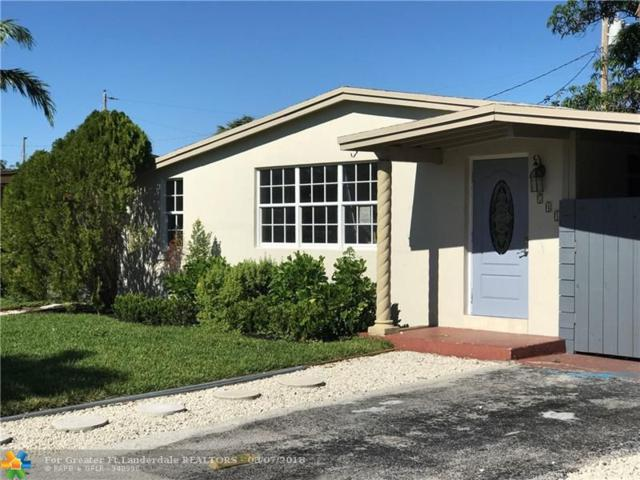 741 NE 58th St, Oakland Park, FL 33334 (MLS #F10133908) :: Green Realty Properties