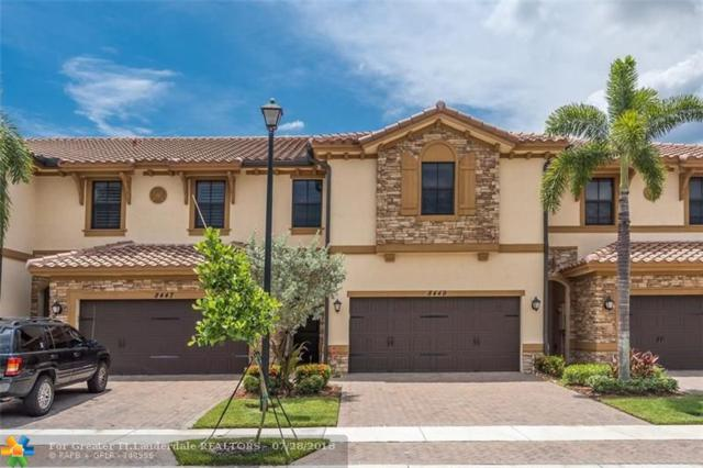 8449 Lake Majesty Ln #8449, Parkland, FL 33076 (MLS #F10134017) :: Green Realty Properties
