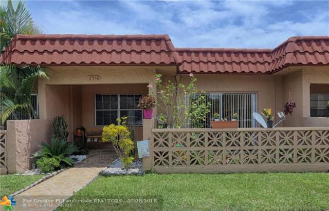 2316 SW 81st Way #8, North Lauderdale, FL 33068 (MLS #F10134049) :: Green Realty Properties