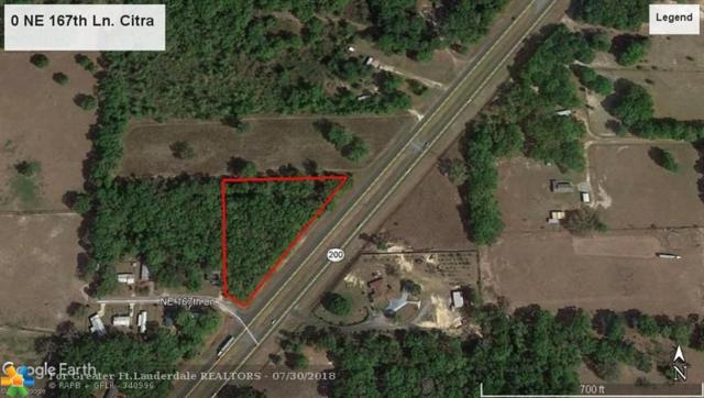0 NE 167th Ln, Other City - In The State Of Florida, FL 32113 (MLS #F10134177) :: Green Realty Properties