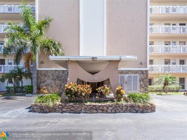 320 NE 12th Ave #502, Hallandale, FL 33009 (MLS #F10134241) :: Green Realty Properties
