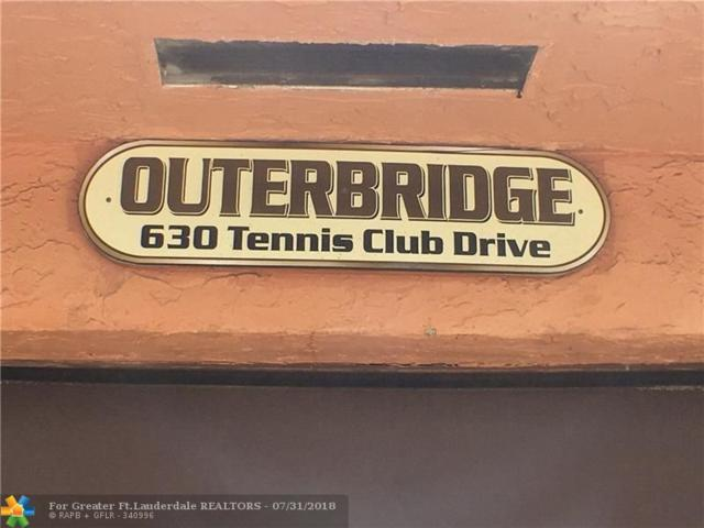 630 Tennis Club Dr #304, Fort Lauderdale, FL 33311 (MLS #F10134394) :: Green Realty Properties