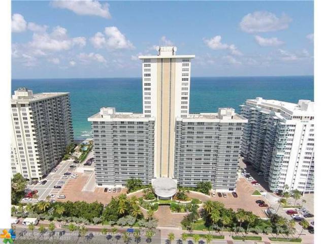 3500 Galt Ocean Dr #709, Fort Lauderdale, FL 33308 (MLS #F10134447) :: Green Realty Properties
