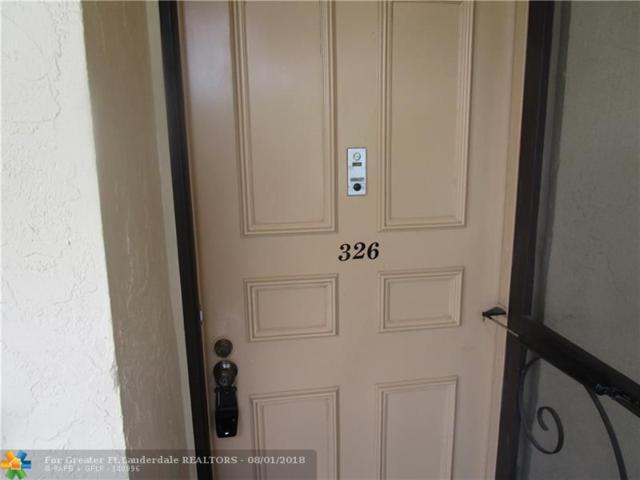 7080 Environ Blvd #326, Lauderhill, FL 33319 (MLS #F10134612) :: Green Realty Properties