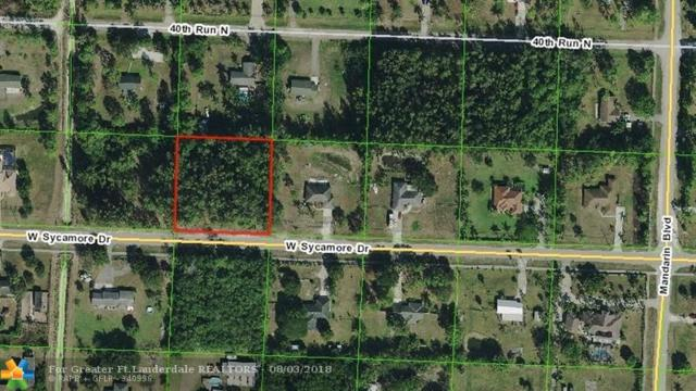 17705 W Sycamore Drive, Loxahatchee, FL 33470 (MLS #F10134712) :: Green Realty Properties