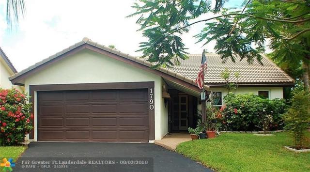 1790 Riverwood Ln, Coral Springs, FL 33071 (MLS #F10134991) :: Green Realty Properties